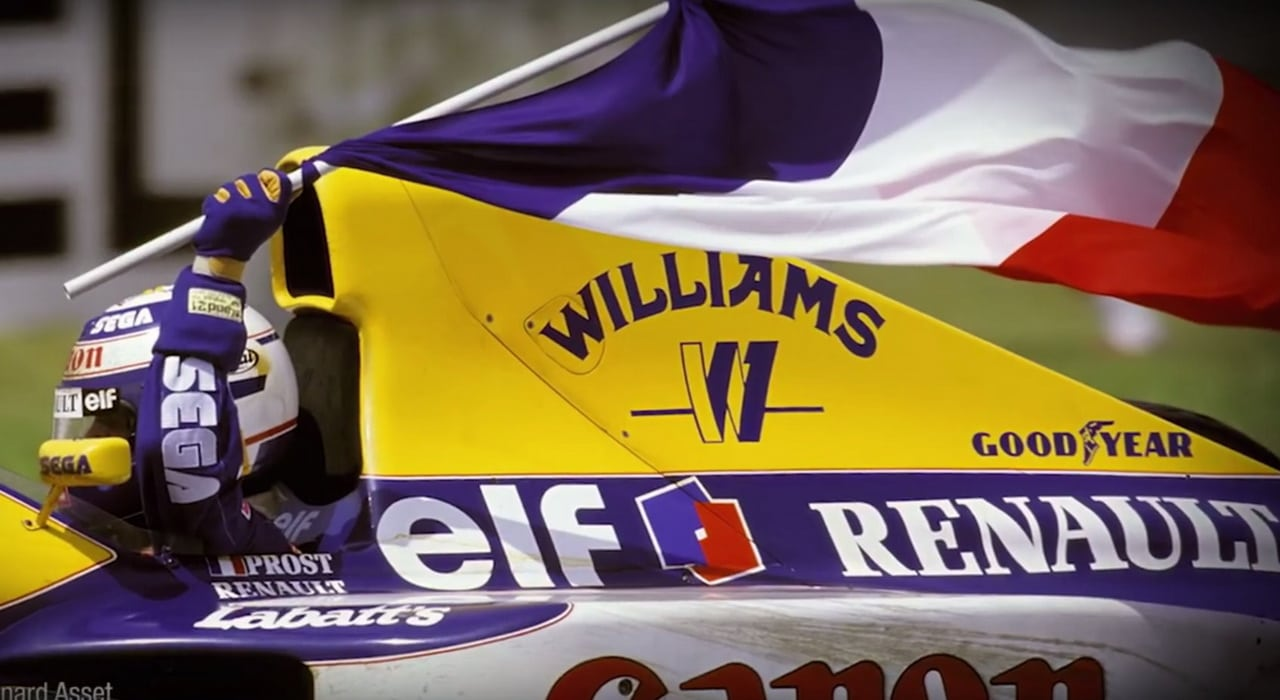 Williams-Renault-Prost-1993